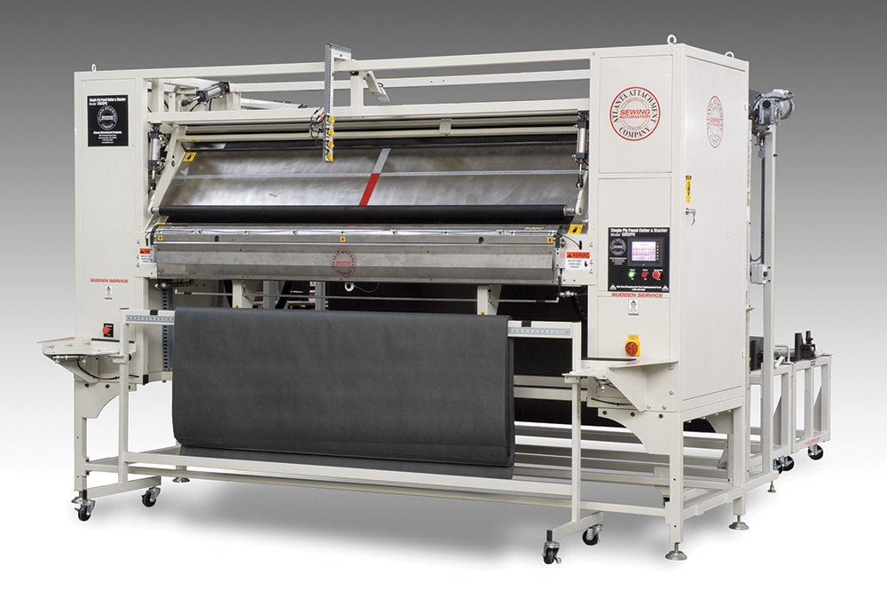 Non-Woven One/Two Ply Panel Cutter with Stacker 1393SPPC